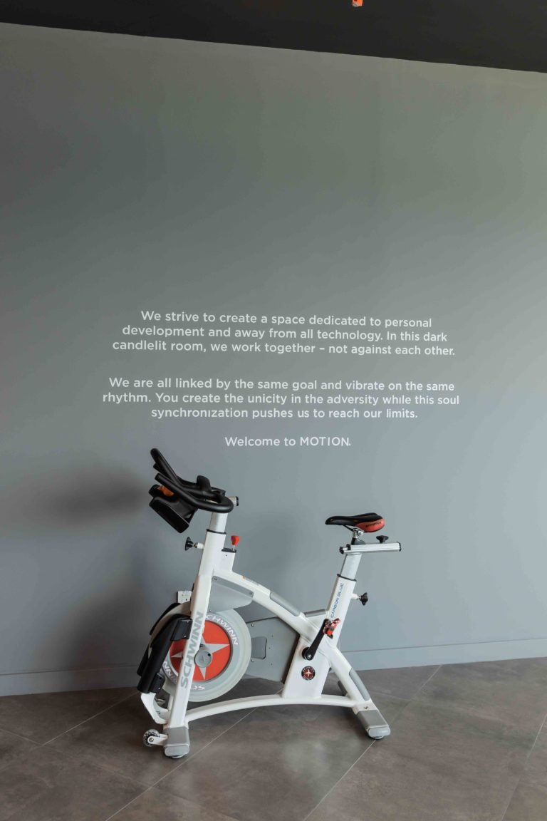 Soulcycle spinning class dubai